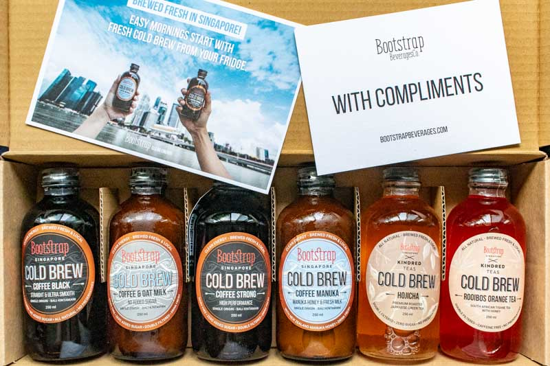 Bootstrap Beverages Cold Brew Coffee Tea 1