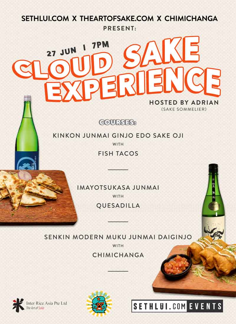 Sethlui.com Presents Cloud Sake Pairing Experience Chimi's Interrice Asia Online 8