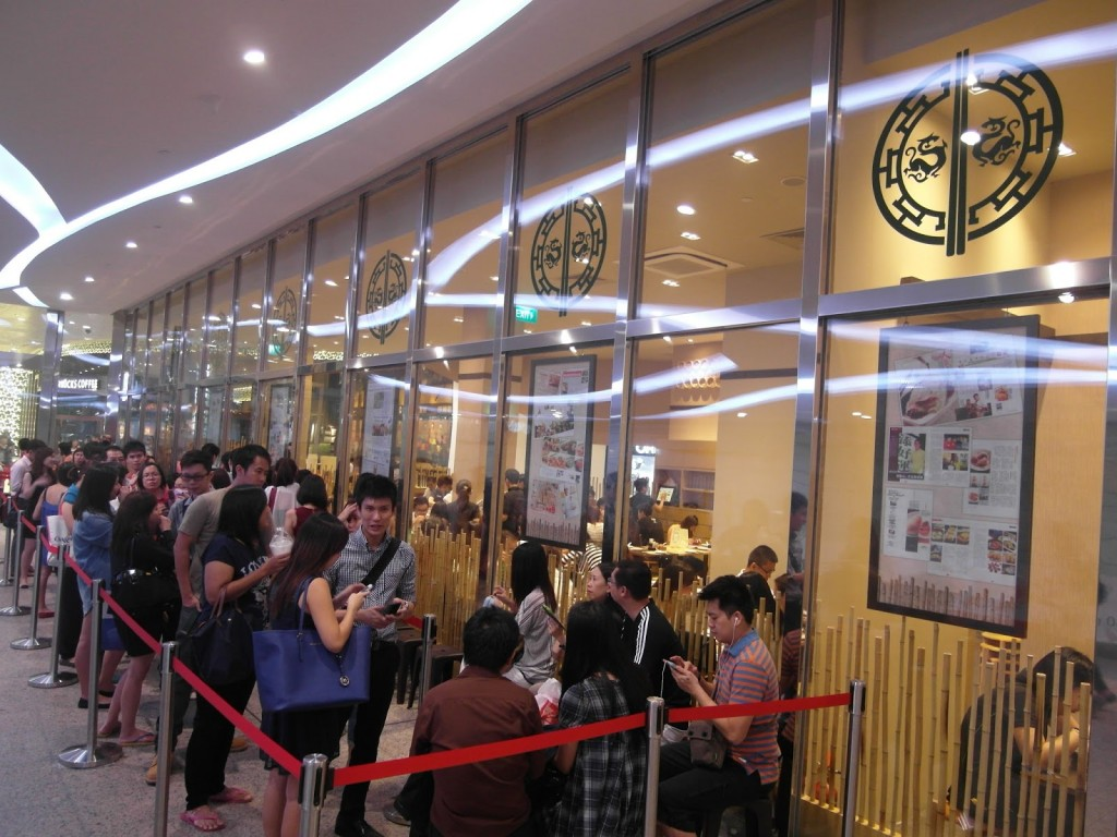 Tim Ho Wan Singapore longest queue restaurant