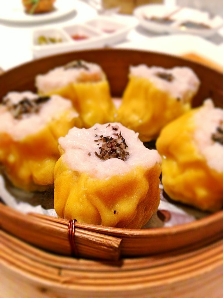 Yan Ting Siew mai with black truffle