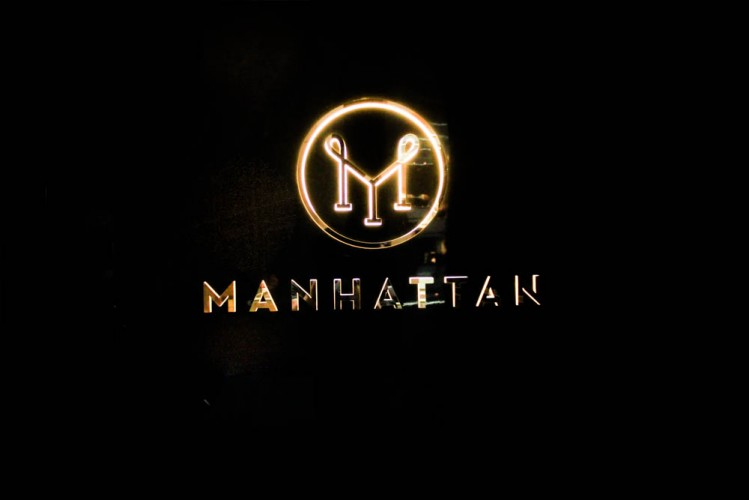Manhattan bar - logo