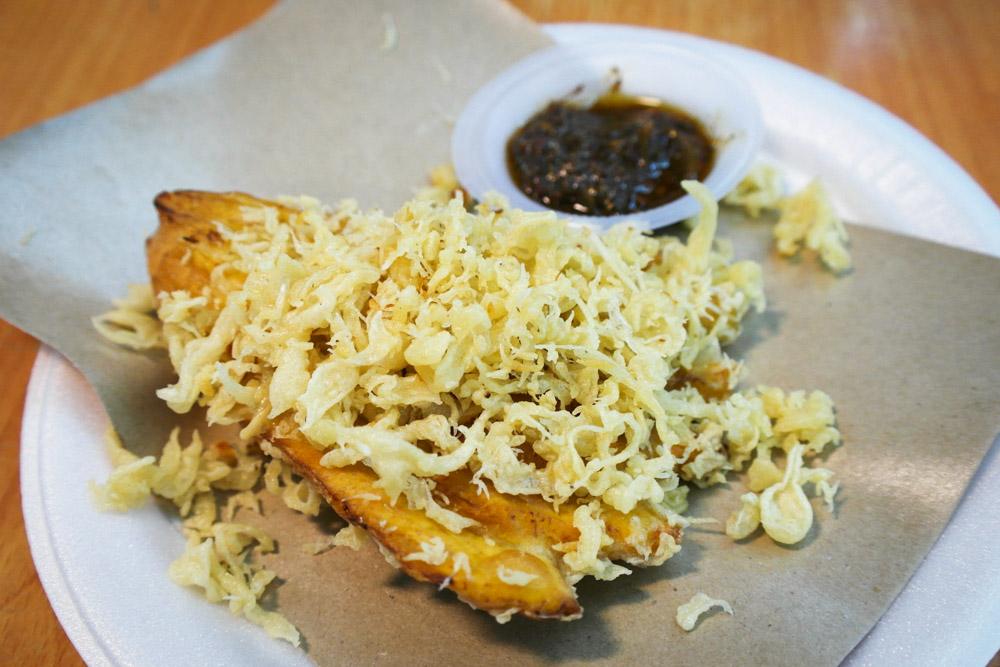must eat jakarta food pisang goreng sambal