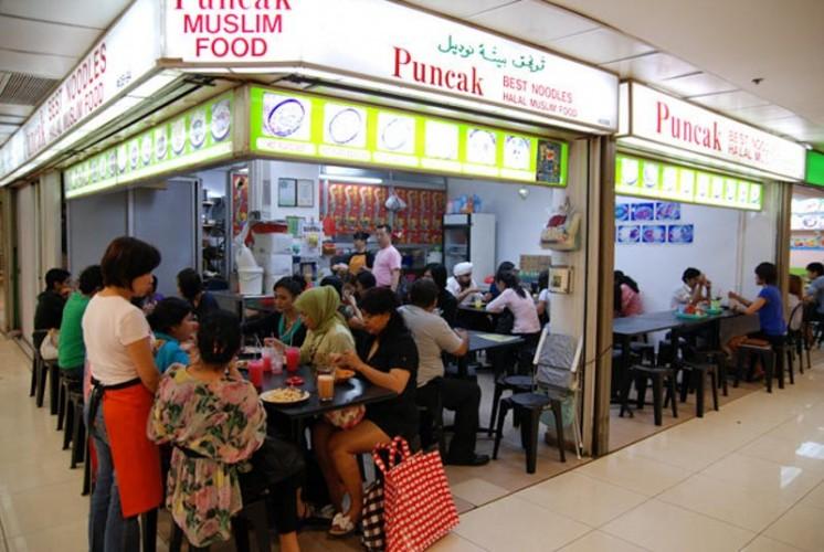 Puncak orchard town cheap eats singapore