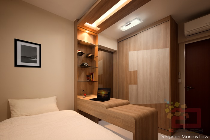 10 stylish hdb bedrooms in singapore you won 39 t mind for 2 bhk interior decoration pictures