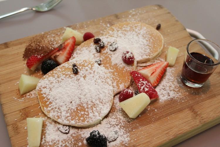 sleeping rhino Homemade Pancakes