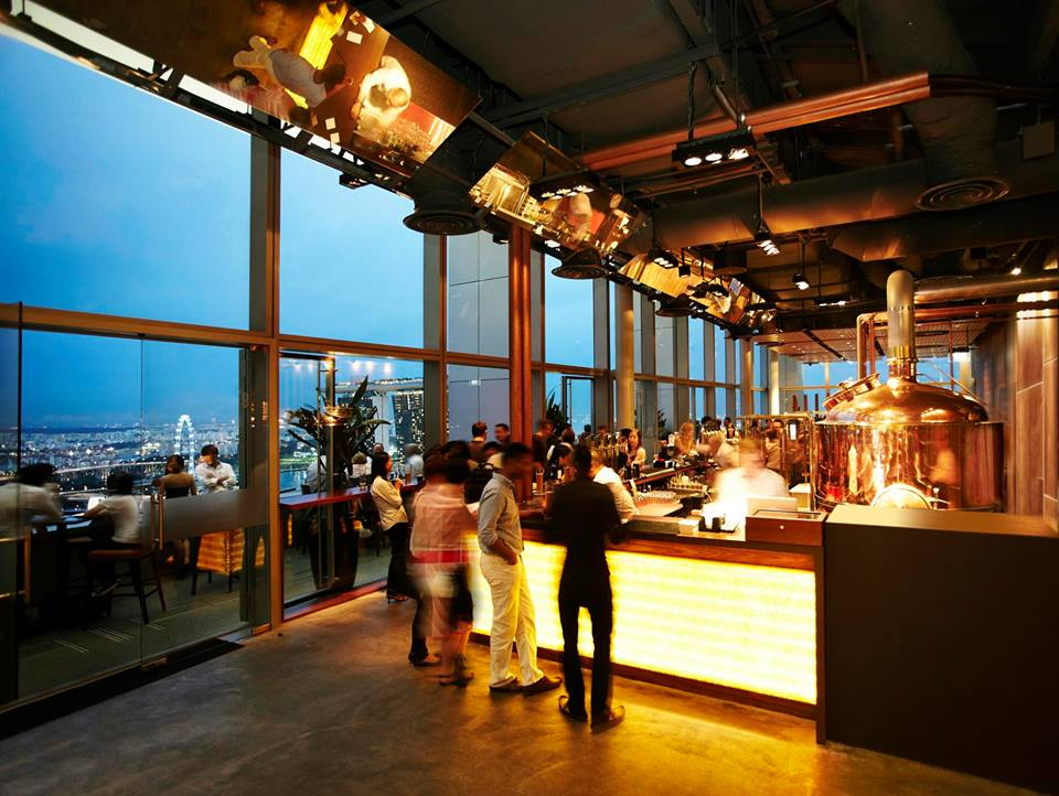 30 Rooftop Restaurants Bars In Singapore With The Best View