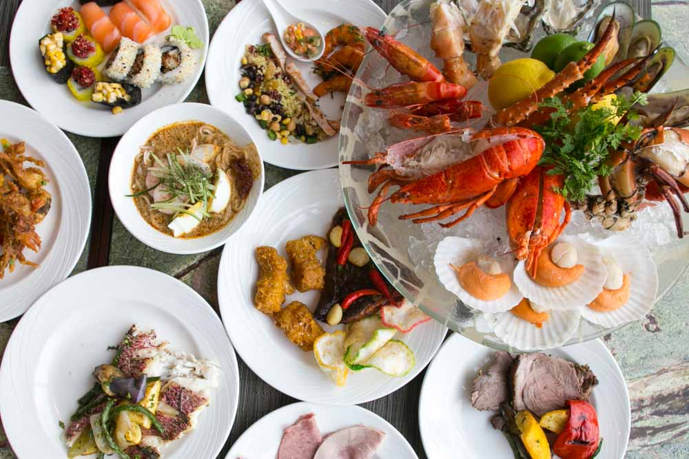 Seasonal tastes westin seafood night buffet every friday for Asian cuisine singapore