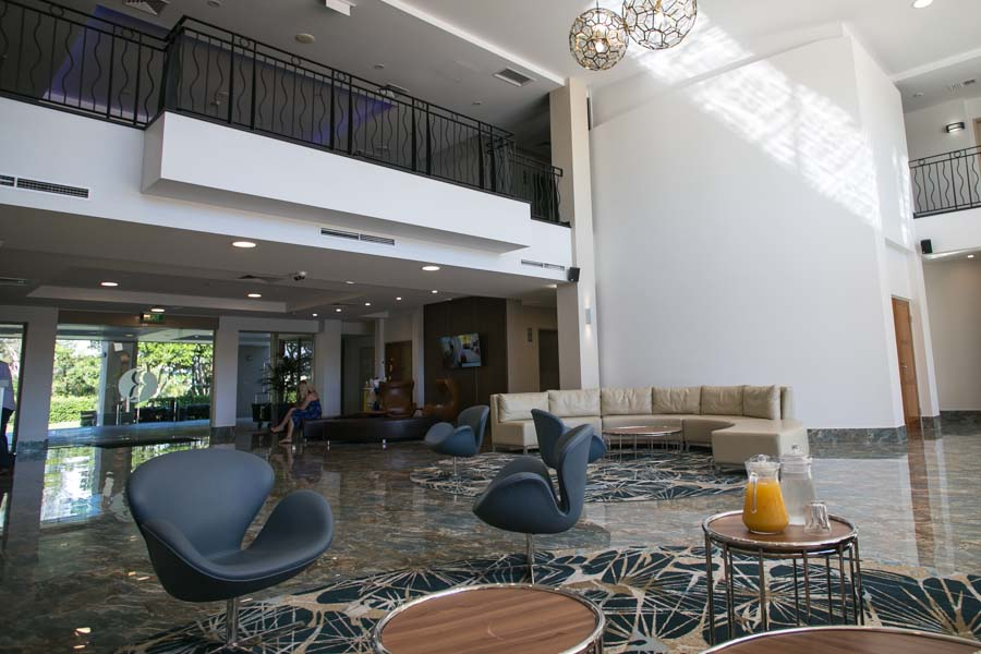gold coast australia ramada hope harbour lobby