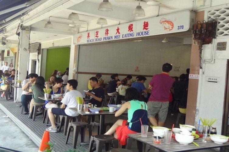 Beach Road Prawn Mee Eating House best prawn noodle singapore