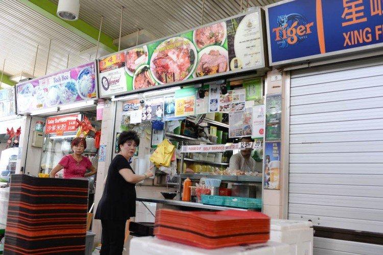 best prawn noodle singapore Noo Cheng Adam Road Prawn Noodle (Zion Road) stall sign