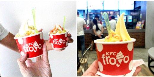kfc froyo best froyo in singapore