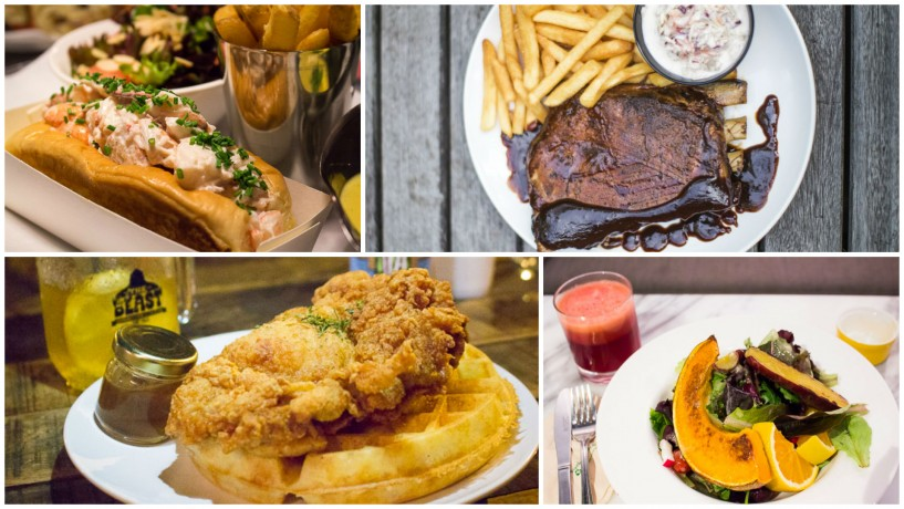 Best places to find american food by region in singapore for American cuisine dishes