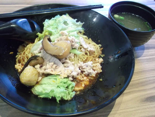 best foods to eat choa chu kang Fishball Noodles