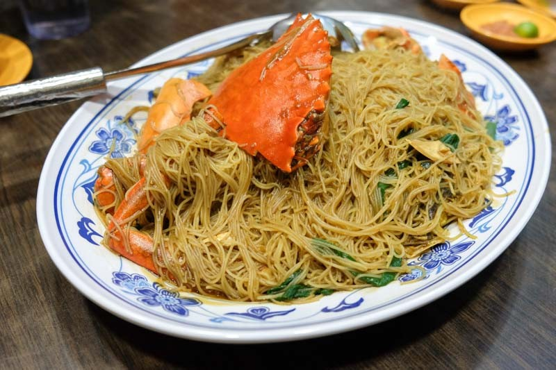 best crab beehoon singapore newubin-braised2