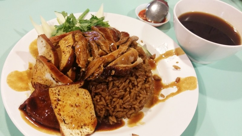 best duck rice singapore chuan kee Braised duck rice