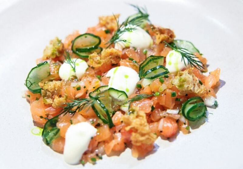 Maggie Joan's - Cured Salmon Tartare