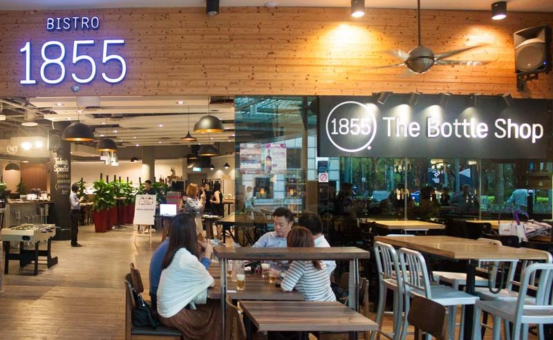 bistro 1855 wine and whisky week