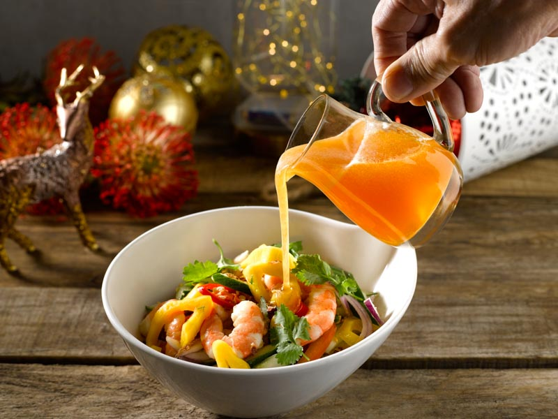 Chef Eric's Special Vietnamese Jackfruit Salad With Poached Prawns