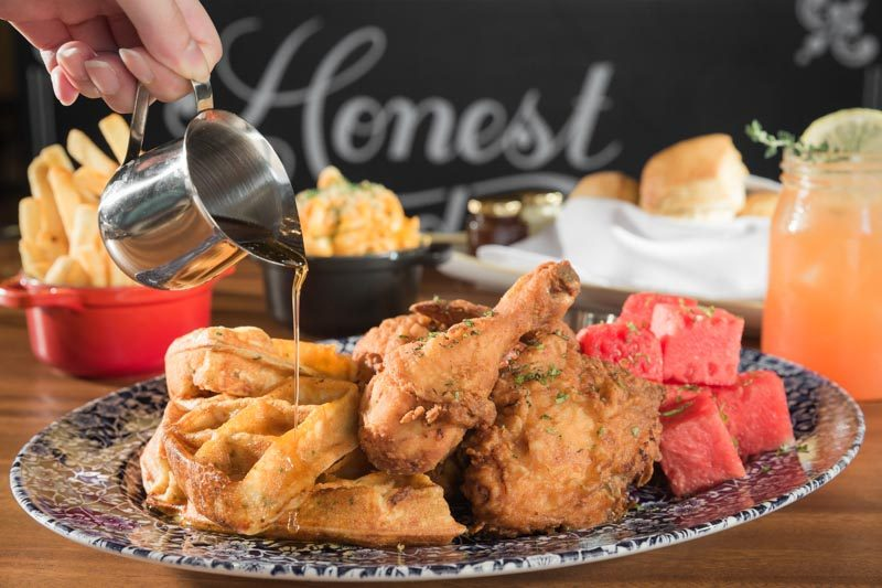 The Bird Chicken And Watermelon N Waffles Food Shoot 290617 6