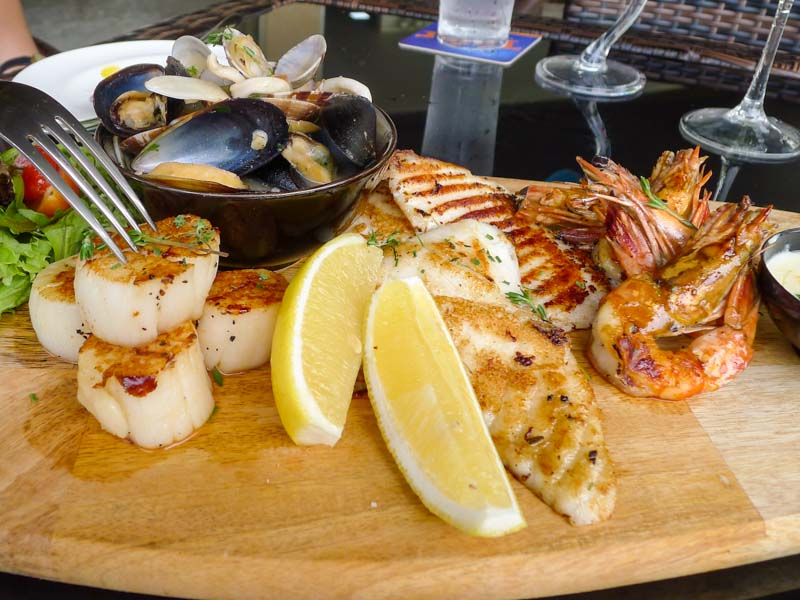 The Seagrill singapore seafood platter 11