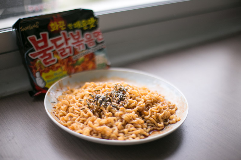 We Tried All 9 Flavours Of Samyang S Korean Spicy Noodles