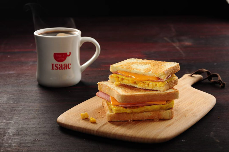 Isaac Toast 4 South Korea's Isaac Toast Is Opening Its First Outlet In Singapore At Plaza Singapura This 15 July