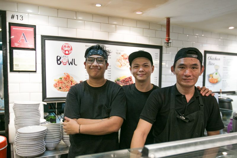 Little Bowls 1 3 800x534 8 Hawker Stalls In Singapore Helmed By Accomplished Ex Restaurant Chefs