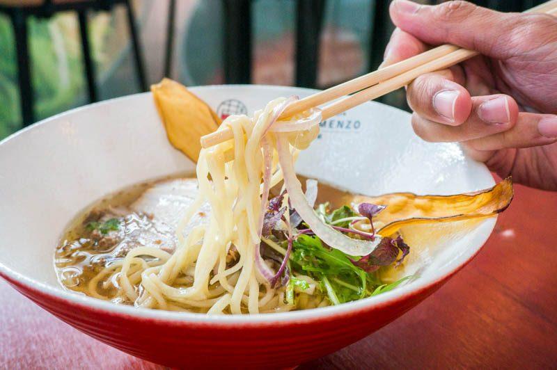 ebi tori menzo 11.1 800x532 Ebi Tori Menzo: Shrimp + Chicken Dipping Ramen & Chashao Don From Osaka At South Beach Ave