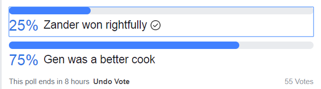 Masterchef Public Opinion