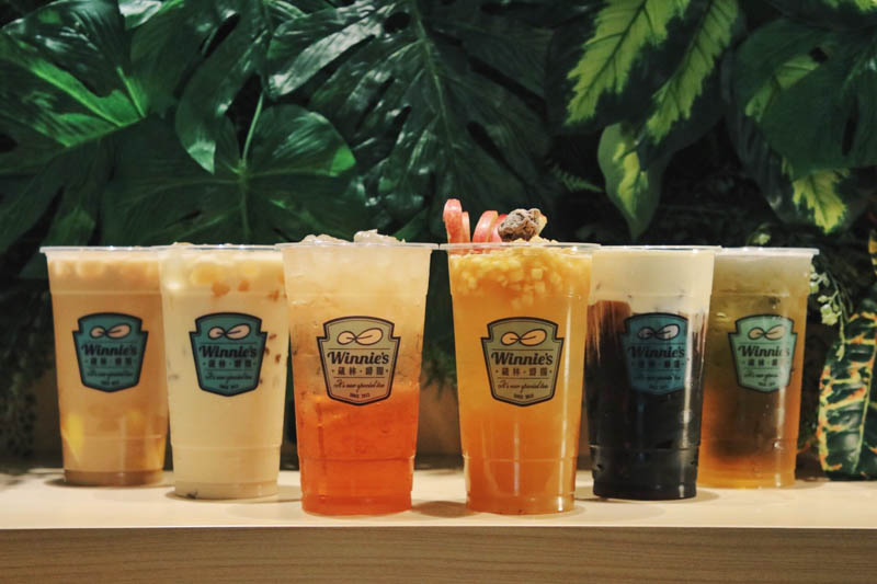Lychee Rose Nectar Fruit Tea & More At This New Bubble Tea Shop Winnie's In  One-North