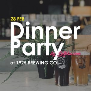 Dinner Party 1925 Brewing 28 Feb