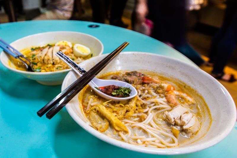 Famous Sungei Road Trishaw Laksa Chinatown 15