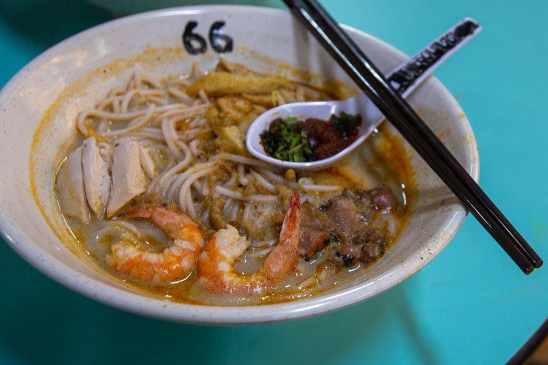 Famous Sungei Road Trishaw Laksa Chinatown 4