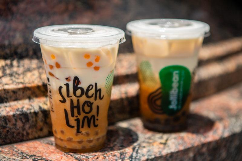 Jollibean Black Golden Pearl Soy Tea March 2019 3