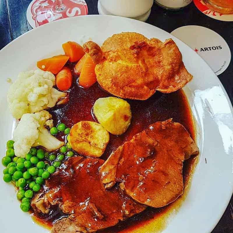 The Red Lion Novena Online 2 british food