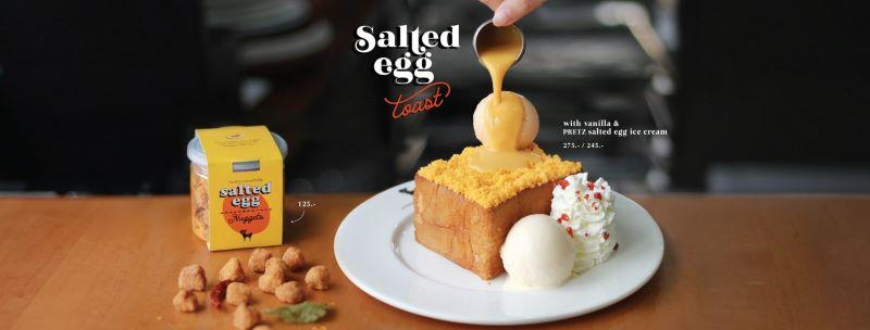 After You Cafe Salted Egg Nuggets Toast Online 1