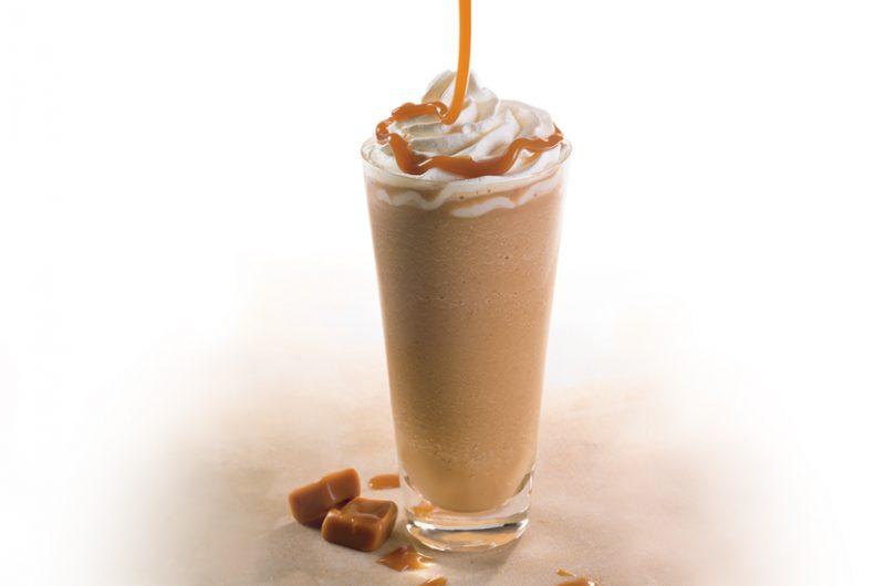 Online Starbucks Caramel Frappe promo