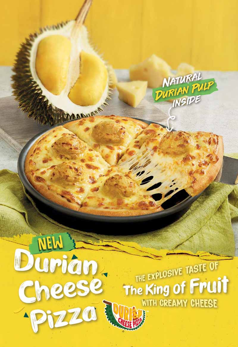 Pizza Hut Malaysia Durian Cheese Pizza Online 2