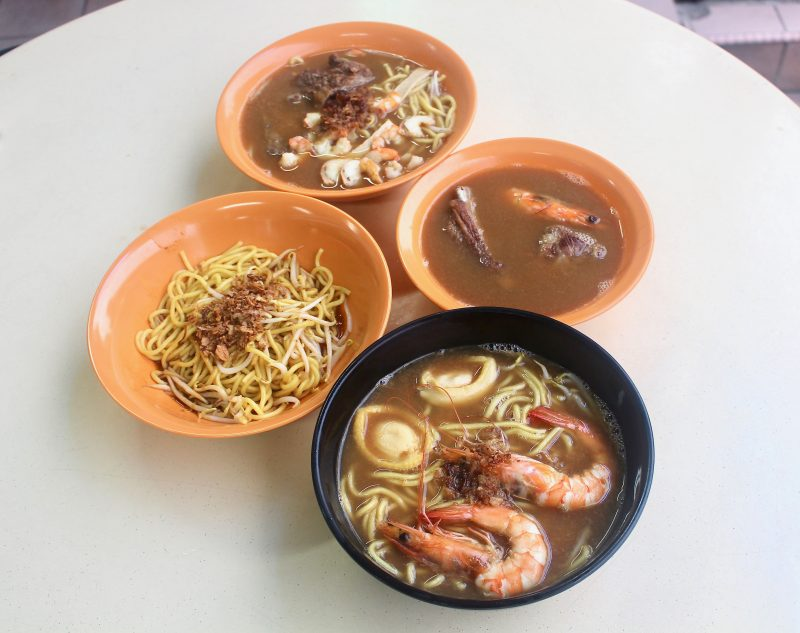 River South (Hoe Nam) Prawn Noodles: Established Prawn Mee Stall Sells  Robust Bowl Of Seafood Goodness In Potong Pasir