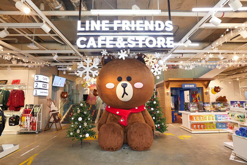 Line Friends X The Alley 3