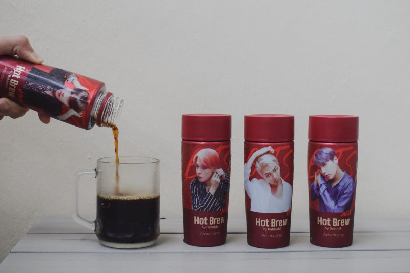 BTS Themed Coffee 7 Eleven