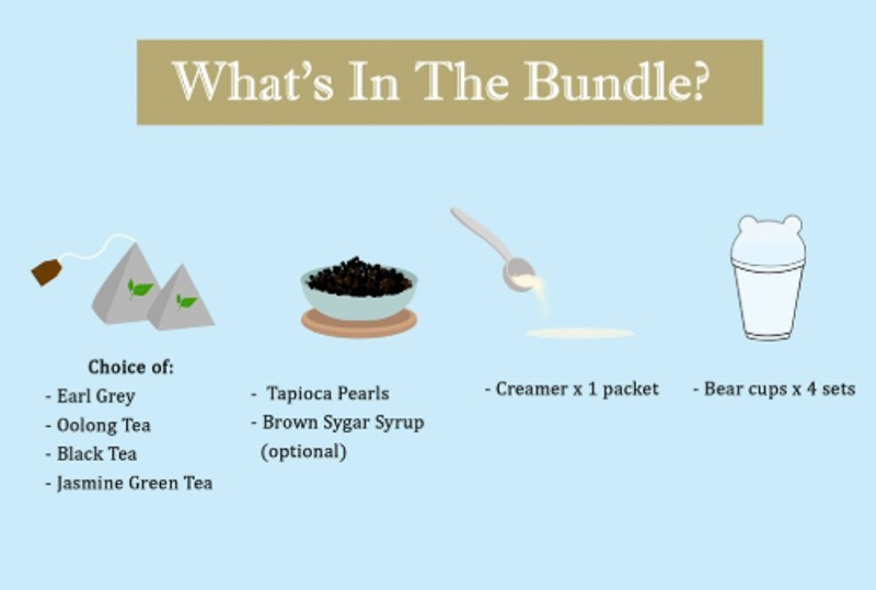 Diy Bubble Tea Kits Shopee Fu Chong Online 2
