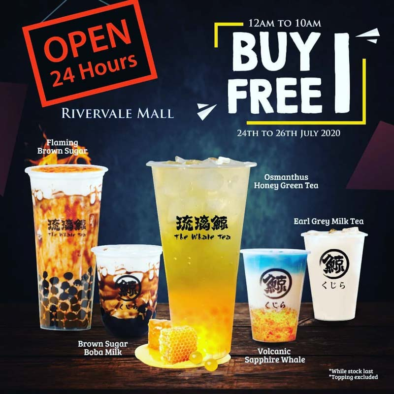 The Whale Tea 1 For 1 24 Hour Outlet Singapore Online 1