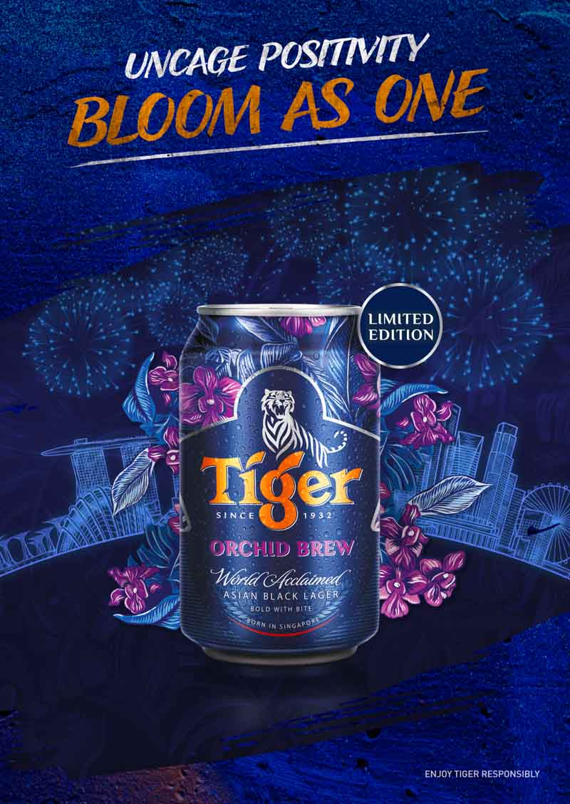 Tiger Beer Singapore Tiger Orchid Brew Online 3
