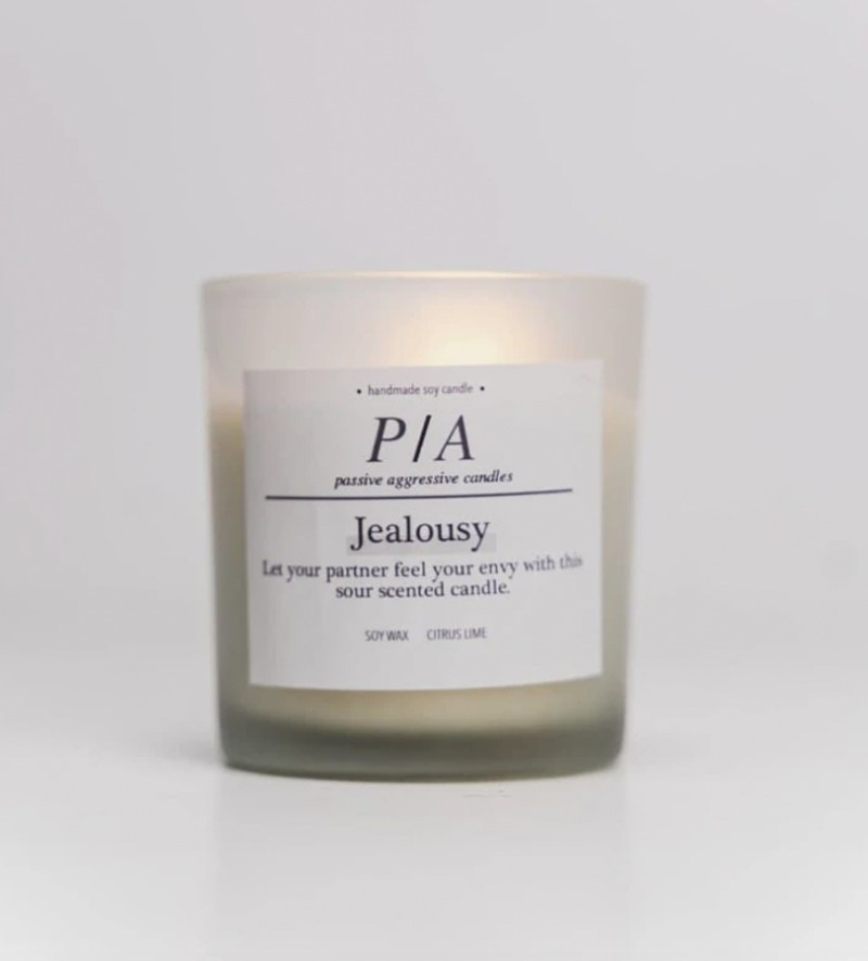 Picture of jealousy Passive Aggressive Candle