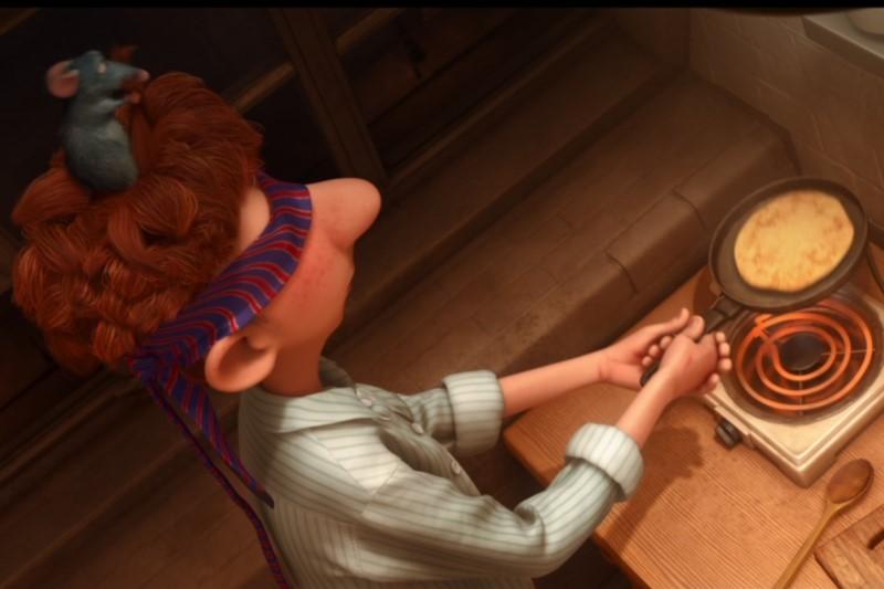 Screenshot from Ratatouille