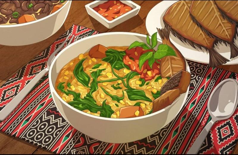 Picture of bubur manado Studio Ghibli Indonesian Food 2