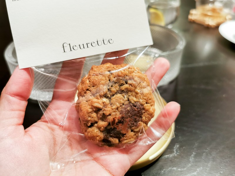 Chocolate chip cookie from Fleurette