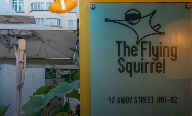 Flying Squirrel storefront