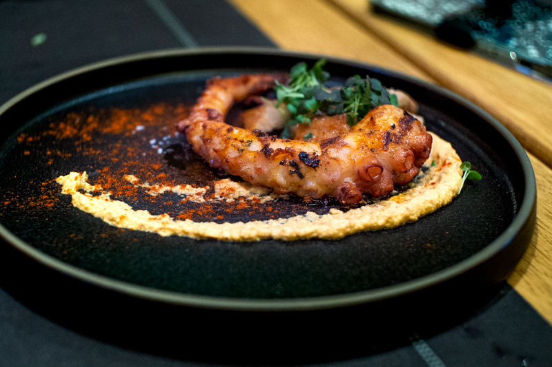 Octopus, Roasted Pork Belly with Paprika